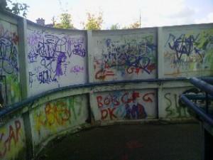 Graffitti Removal Service Ireland