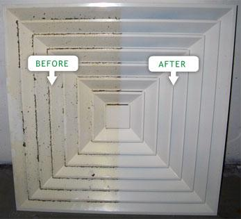 air conditioning vent cleaning